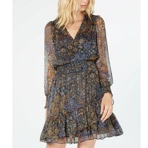 MICHAEL Michael Kors Dresses - MICHAEL KORS Petite Ruffled Dress
